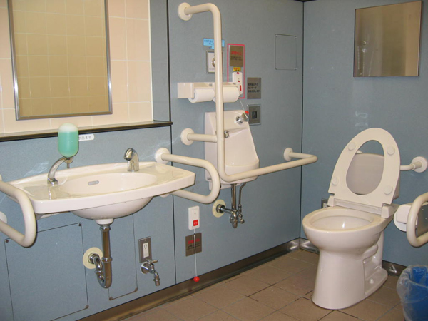 Japan accessible tourism center travel tips - Toilet for handicapped person ...